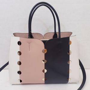 Kate Spade Nicola Mod Dot Large Satchel Bag Black